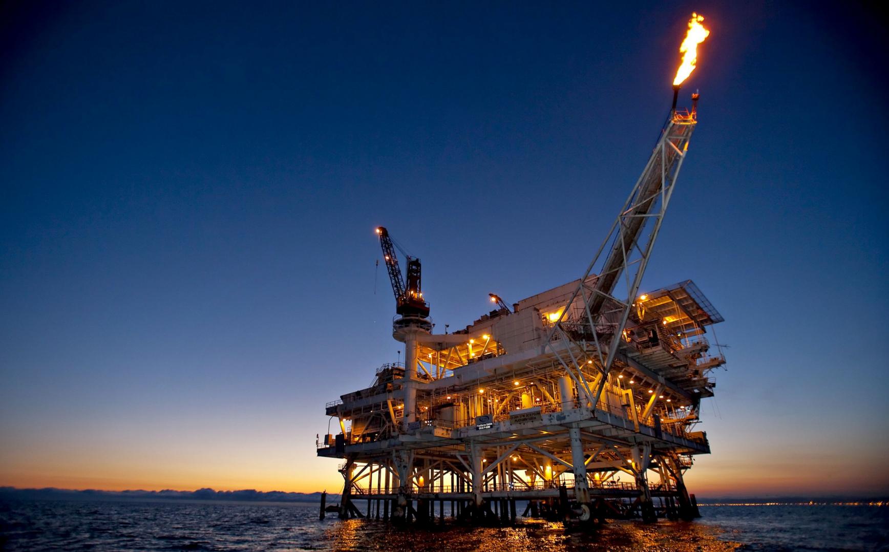 A világ egyik legnagyobb olajfúrótornya